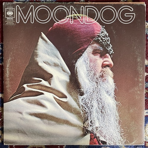 MOONDOG Moondog (CBS - UK original) (VG) LP