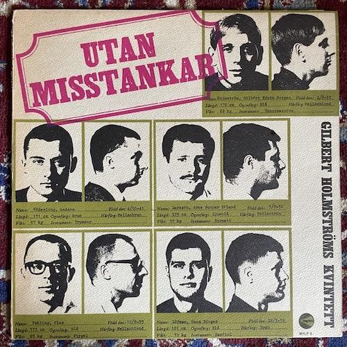 GILBERT HOLMSTRÖMS KVINTETT Utan Misstankar (Megafon - Sweden original) (VG+/VG) LP