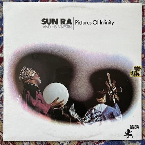 SUN RA AND HIS ARKESTRA Pictures Of Infinity (Black Lion - UK original) (VG+/EX) LP