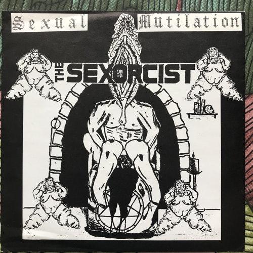 "SEXORCIST, the / EXTREME SMOKE 57 Split (Cyber Music - Holland original) (EX) 7"""