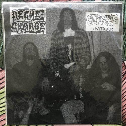 "DECHE-CHARGE / CLITORIS TRAFFICKER Split (Japan Overseas - Japan original) (SS) 7"""