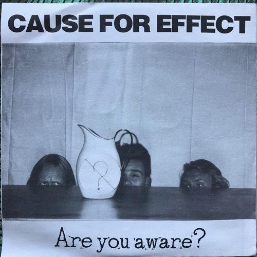 "CAUSE FOR EFFECT / NOISE WASTE Split (Freak Animal - Finland original) (EX) 7"""