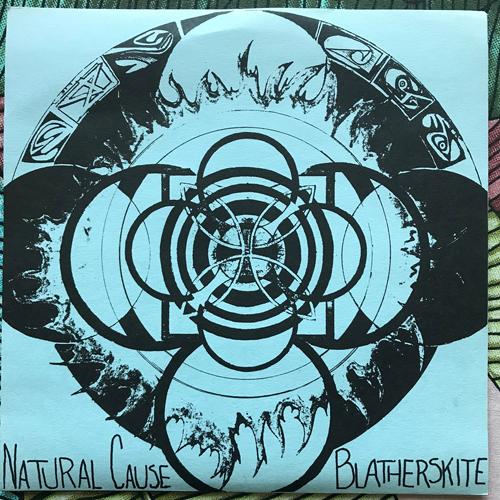 "BLATHERSKITE / NATURAL CAUSE Split (Rhetoric - USA 2nd press) (EX) 7"""