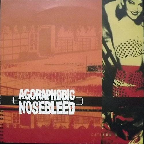 "AGORAPHOBIC NOSEBLEED PCP Torpedo (Orange/red vinyl) (Hydra Head - USA original) (NM) 6"""