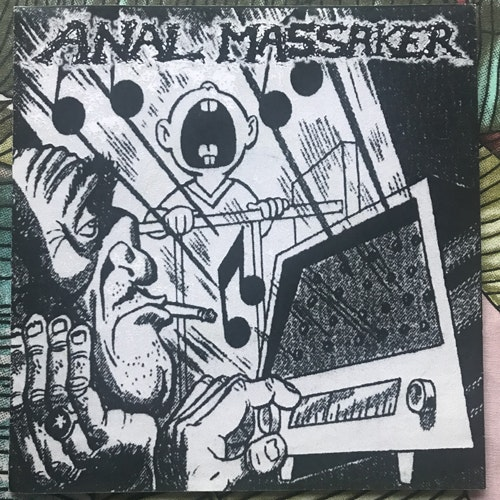 "ANAL MASSAKER / MEAT PAUNCH MAFIA Split (Bizarre Leprous - Czech Republic original) (EX) 7"""