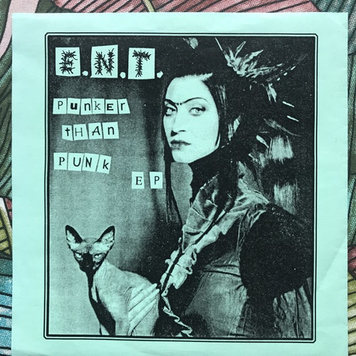"""EXTREME NOISE TERROR Punker Than Punk EP (No label - unofficial release) (EX) 7"""""""