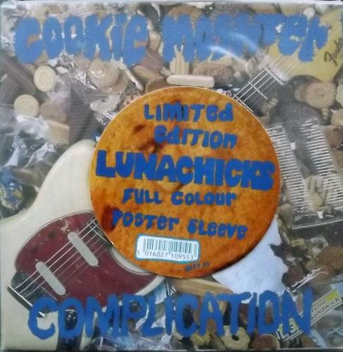 """LUNACHICKS Cookie Moshter (Blast First - UK original) (EX) 7"""""""