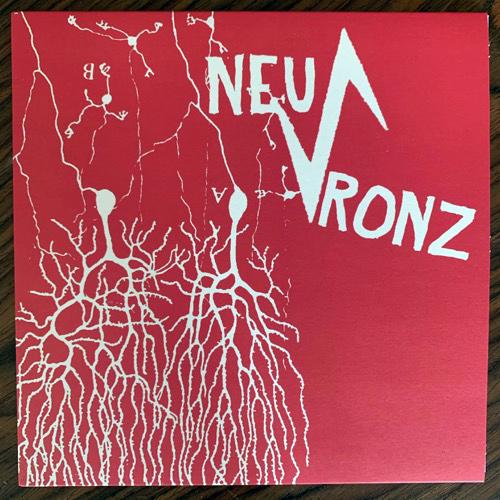 "NEU-RONZ Neu-Ronz (Red vinyl) (Adult Crash - Denmark original) (NM) 7"""