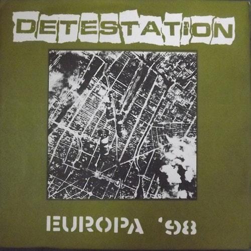 """DETESTATION Europa '98 (Consensus Reality - USA original) (EX) 7"""""""