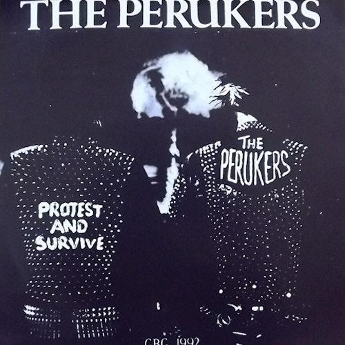 "PERUKERS, the GBG 1992 (Distortion - Sweden original) (EX) 7"""