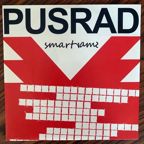 """PUSRAD Smartrams (Yellow vinyl) (Just 4 Fun - Sweden original) (NM) 7"""""""