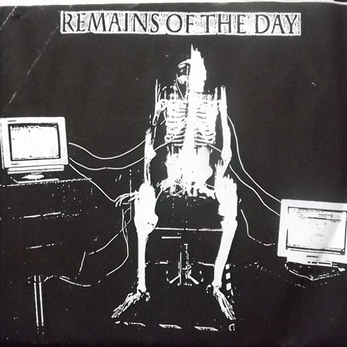 """REMAINS OF THE DAY Fall Tour 2001 - Europa (Self released - Europe original) (VG+/EX) 7"""""""