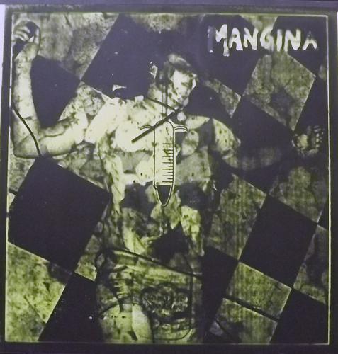 """MANGINA Muddy Muddy Mudshark (White vinyl) (Jeth-Row - USA original) (NM) 7""""+CDR"""