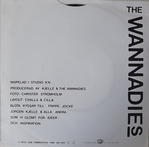 """WANNADIES, the Smile (A West Side Fabrication - Sweden original) (EX) 7"""""""