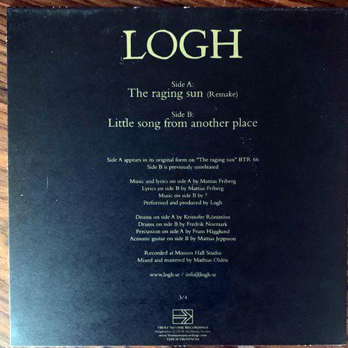 "LOGH The Raging Sun (Trust No One - Sweden original) (EX) 7"""