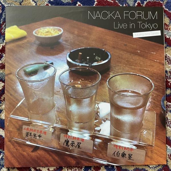 NACKA FORUM FEATURING AKIRA SAKATA Live In Tokyo (Red vinyl) (EX) LP