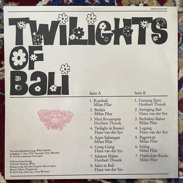 MÜNCHENER STUDIOORCHESTER Twilights Of Bali (Free Soul - Germany reissue) (NM) LP