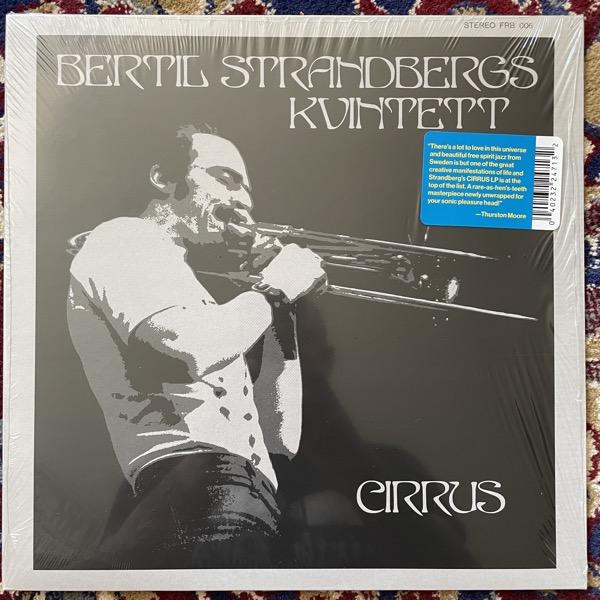 BERTIL STRANDBERGS KVINTETT Cirrus (Frederiksberg - USA reissue) (NM) LP