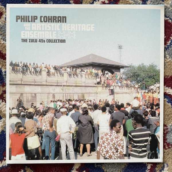 """PHILIP COHRAN AND THE ARTISTIC HERITAGE ENSEMBLE The Zulu 45s Collection (Jazzman - UK original) (EX/NM) 3x7"""""""