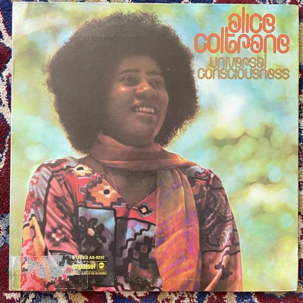 ALICE COLTRANE Universal Consciousness (Impulse - USA original) (VG/EX) LP