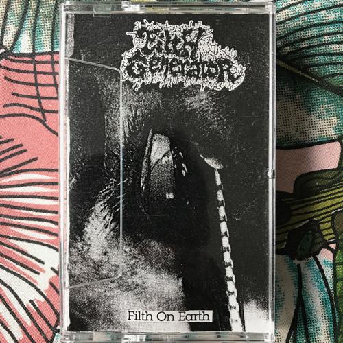 FILTH GENERATOR Filth On Earth (3 Ears Muzik - Japan original) (EX) TAPE