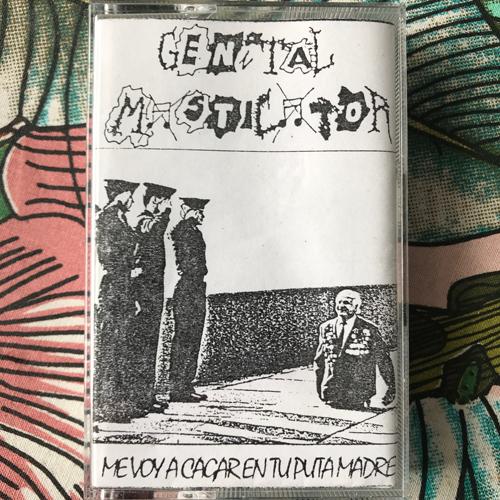GENITAL MASTICATOR Me Voy A Cagar En Tu Puta Madre (Cadaverizer - Spain original) (EX) TAPE