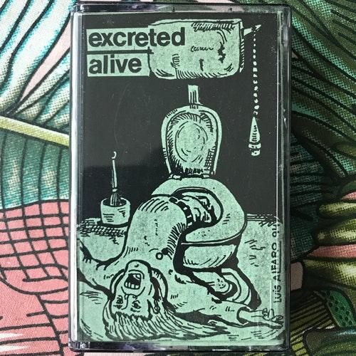EXCRETED ALIVE Injusta Situacion (Upground - Spain original) (EX) TAPE