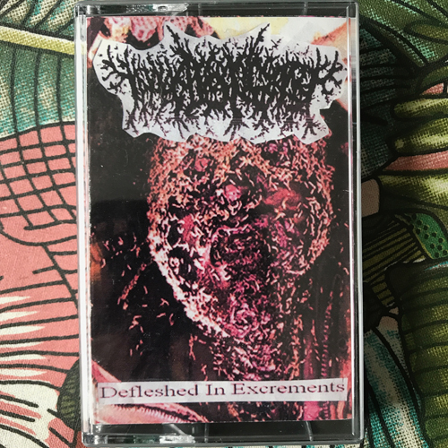 THANATOPSIS Defleshed In Excrements (Self released - Brazil original) (EX) TAPE