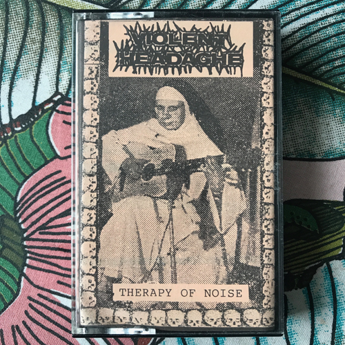 VIOLENT HEADACHE Therapy Of Noise (Anaconda - Spain 2nd edition) (EX) TAPE