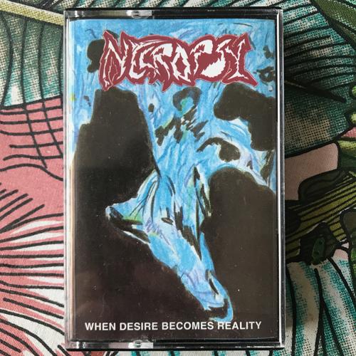 NECROPSY When Desire Becomes Reality (Anaconda - Spain original) (EX) TAPE