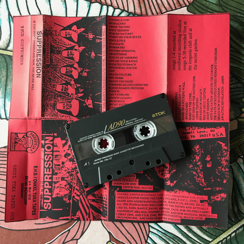 SUPPRESSION If You Don't Understand Now, You Never Will (Onkel Tuka - Germany original) (EX) TAPE