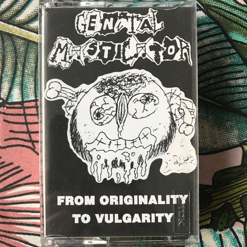 GENITAL MASTICATOR From Originality To Vulgarity (Cadaverizer - Spain original) (EX) TAPE