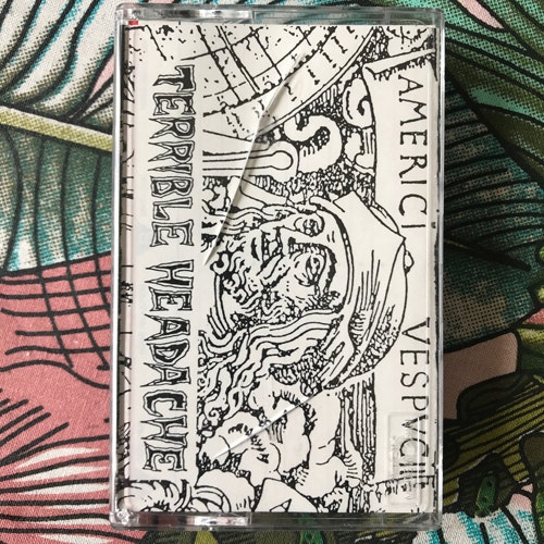 TERRIBLE HEADACHE Suffering From The Pain (Self released - Japan original) (EX) TAPE