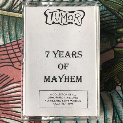 TUMOR 7 Years Of Mayhem (Self released - Germany original) (EX) TAPE
