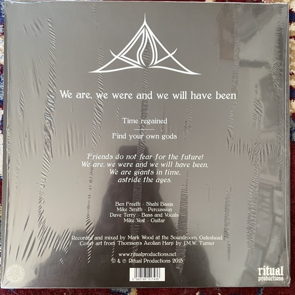 BONG We Are, We Were And We Will Have Been (With Ritual tote bag) (Ritual - UK original) (NM/EX) LP