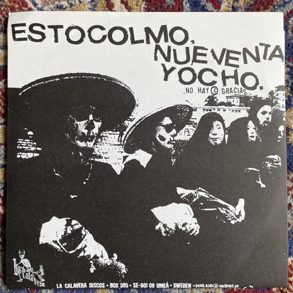 """LAST MATCH / SWITCHBLADE Estocolmo, Nueventa, Yocho (La Calavera Discos - Sweden original) (EX/VG+) 7"""""""