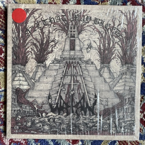 """WATAIN All That May Bleed (Red vinyl) (His Master's Noise - Sweden original) (NM/EX) 7"""""""