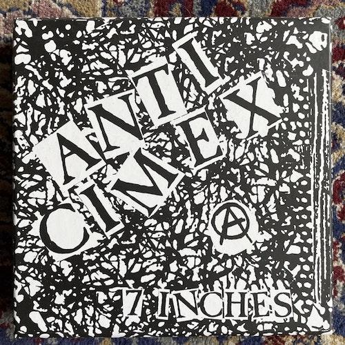"""ANTI CIMEX 7 Inches (Nada Nada - Brazil original) (NM) 3x7""""+Flexi 7"""" BOX"""