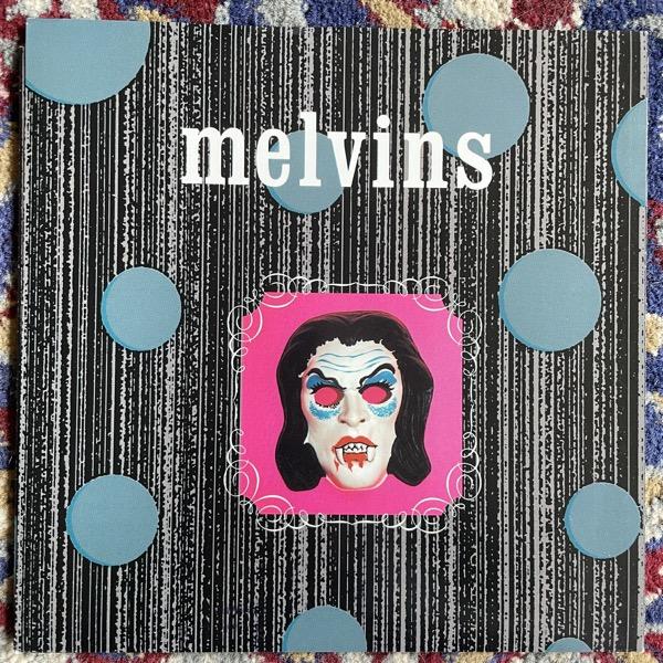 "MELVINS Black Stooges (Ipecac - USA original) (EX) 7"""