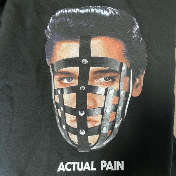 ACTUAL PAIN Elvis (S) (USED) SWEATSHIRT