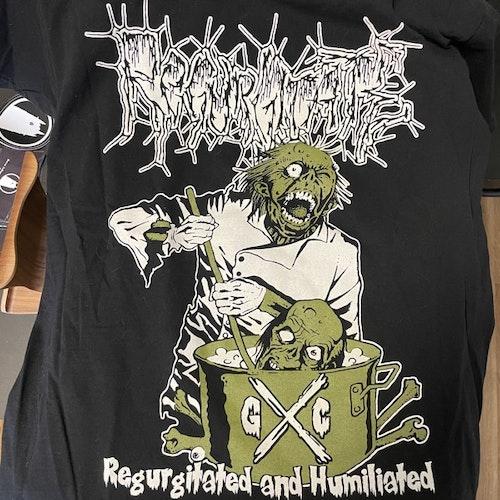 REGURGITATE Regurgitated and Humiliated (S) (USED) T-SHIRT