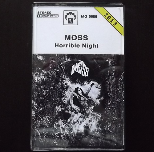 MOSS Horrible Night (MG - Poland partially unofficial) (NM) TAPE
