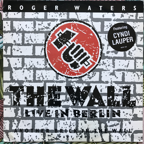 """ROGER WATERS Another Brick In The Wall (Part Two) (Mercury - UK original) (VG+/VG) 12"""""""