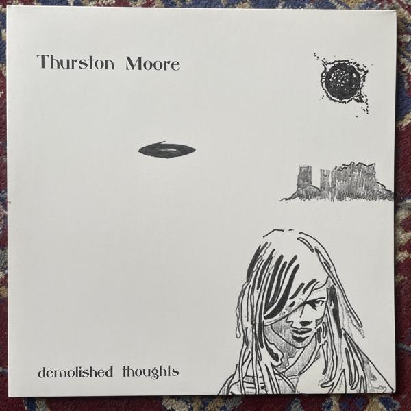 THURSTON MOORE Demolished Thoughts (Blue vinyl) (Matador - Europe original) (EX/NM) 2LP