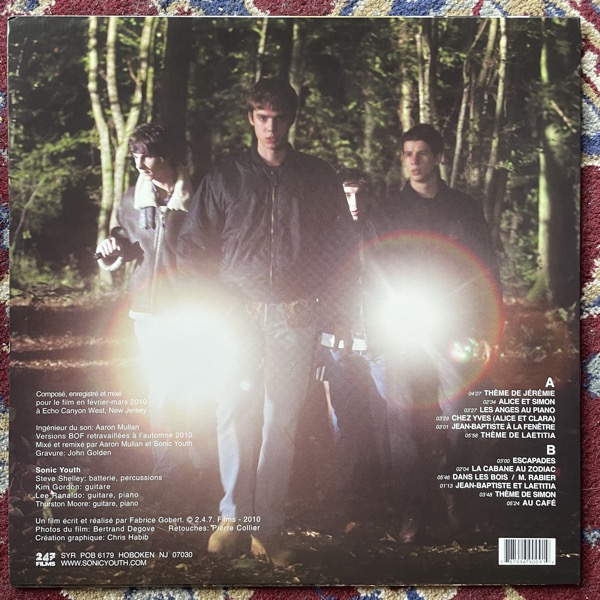 SONIC YOUTH Simon Werner A Disparu (Original Enregistrement Sonore) (Sonic Youth - USA original) (EX) LP