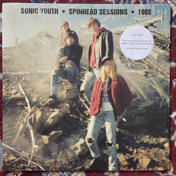 SONIC YOUTH Spinhead Sessions • 1986 (Goofin' - USA original) (NM) LP