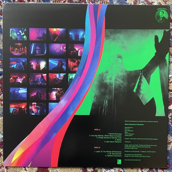 MASTER MUSICIANS OF BUKKAKE Twilight Of The Kali Yuga Tours (Important - USA original) (EX/VG+) LP