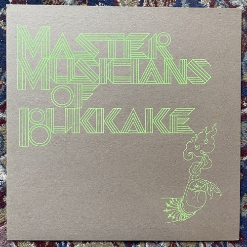 MASTER MUSICIANS OF BUKKAKE Live Totems (Test pressing, ltd to 100) (Important - USA original) (NM/EX) LP
