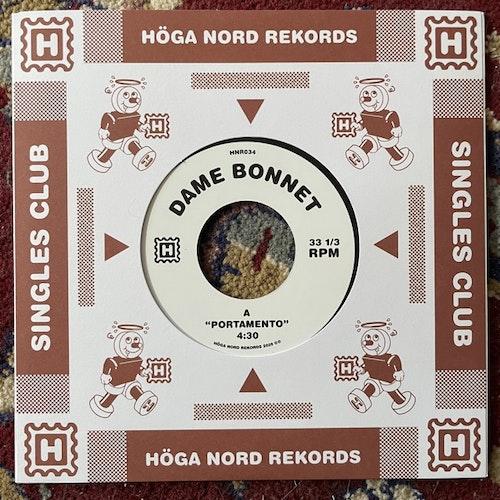 "DAME BONNET Portamento (Höga Nord - Sweden original) (NM) 7"""