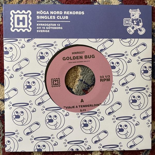 """GOLDEN BUG Viaje A Tenderloin (Höga Nord - Sweden original) (NM) 7"""""""